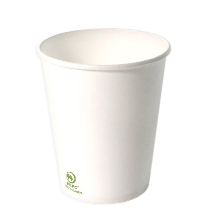 Bicchiere di Carta 4Oz/120ml Bianco Ø6,2cm (2000 Pezzi)