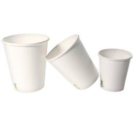 Bicchiere di Carta 6Oz/180ml Bianco Ø7,0cm (100 Pezzi)