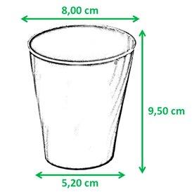 """Bicchiere di Plastica PP """"X-Table"""" Viola 320ml (8 Pezzi)"""