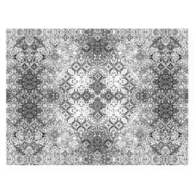 """Tovaglietta di Carta 30x40cm """"Mosaico"""" Nero 40g/m² (1000 Pezzi)"""