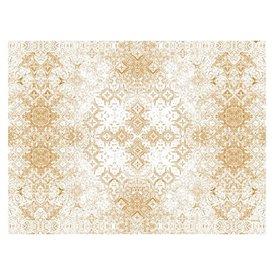 """Tovaglietta di Carta 30x40cm """"Mosaico"""" Crema 40g/m² (1000 Pezzi)"""