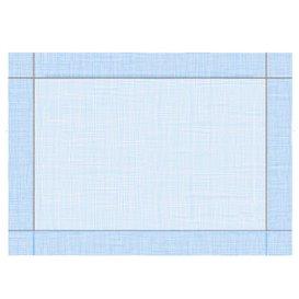 """Tovaglietta di Carta 30x40cm """"Tra le linee"""" Blu 40g/m² (1000 Pezzi)"""
