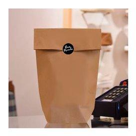 Sacchetto di carta con Base Esagonale Kraft 17x22cm (1000 Pezzi)