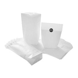 Sacchetto di carta con Base Esagonale Bianco 17x22cm (1000 Pezzi)