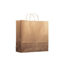 Buste Shopper in Carta 100g 18+8x24 cm (25 Pezzi)