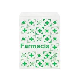 Sacchetto di Carta Bianca Farmacia 14x20cm (250 Pezzi)