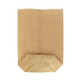 Sacchetto di carta con Base Esagonale Kraft 14x19cm (50 Pezzi)