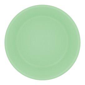 Piatto Riutilizzabile Durable PP Minerale Verde Ø18cm (54 Pezzi)