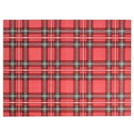 """Tovaglietta di Carta Rosso """"Glasgow"""" 30x40cm 40g/m² (1.000 Pezzi)"""