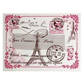 """Tovaglietta di Carta Bianco """"Paris"""" 30x40cm 40g/m² (1.000 Pezzi)"""