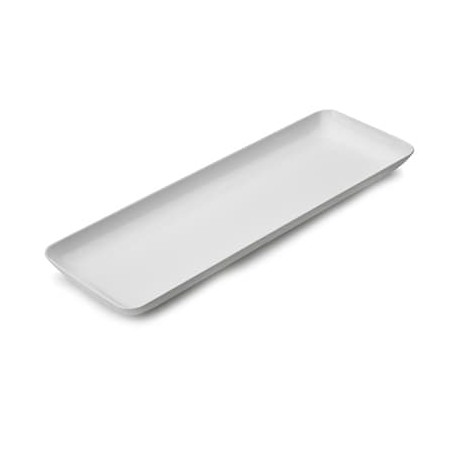Plato plastico cuadrado degustacion 6,5x6,5cm (8 Uds)