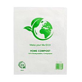 Sacchetti Plastica Block 100% Home Compost 30x40cm (100 Pezzi)