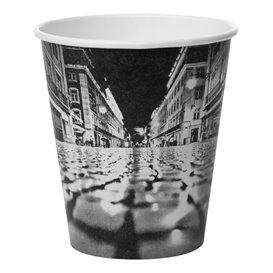 """Bicchiere di Carta 6Oz/180ml """"Parisian"""" Ø8,0cm (50 Pezzi)"""