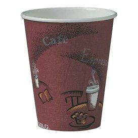 """Bicchiere di Carta 10 Oz/300 ml """"Bistro"""" Ø8,4cm (50 Pezzi)"""