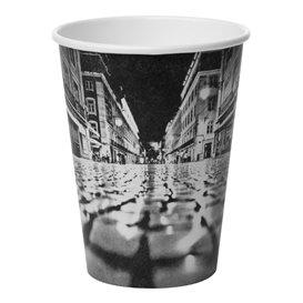 """Bicchiere di Carta 12 Oz/360ml """"Parisian"""" Ø8,9cm (50 Pezzi)"""