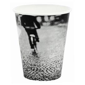 """Bicchiere di Carta 8Oz/240ml """"Parisian"""" Ø8,0cm (50 Pezzi)"""