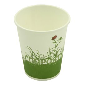 Bicchiere di Carta e PLA 12Oz/330ml (50 Pezzi)