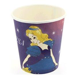 """Bicchieri di Carta """"Principessa"""" 200ml (25 Pezzi)"""