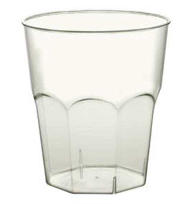 Bicchiere PLA Rigida Biodegradabile Transparente 420ml (20 pezzi)