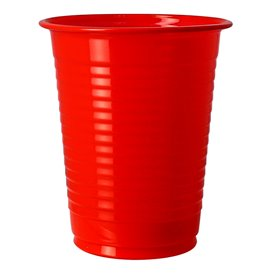 Bicchiere Amido Mais PLA Rosso 200ml (50 pezzi)