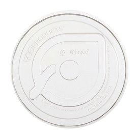 Coperchio Piatto PLA Bicchiere Amido di Mais 265,355,590ml (100 Pezzi)