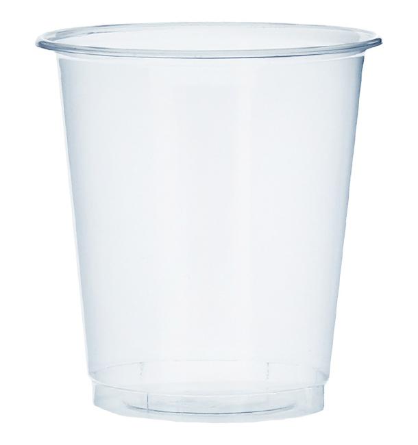 Bicchiere di Plastica PP Trasparente 100 ml (50 Pezzi)