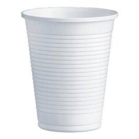 Bicchiere di Plastica PP Bianco 200ml Ø7,0cm (100 Pezzi)