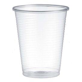 Bicchiere di Plastica PP Transparente 200ml Ø7,0cm (100 Pezzi)