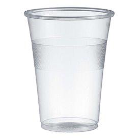 Bicchiere di Plastica PP Transparente 300ml Ø7,7cm (50 Pezzi)