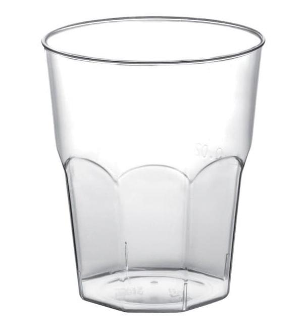 Bicchiere Plastica Cicchetto Trasp. PP Ø45mm 50ml (50 Pezzi)