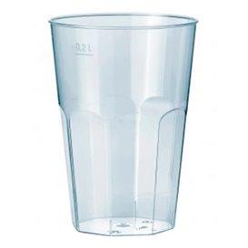 "Bicchiere Plastica ""Deco"" PP Trasparente 200 ml (500 Pezzi)"