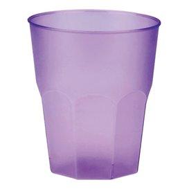 """Bicchiere Plastica """"Frost"""" Lilla PP 270 ml (20 Pezzi)"""