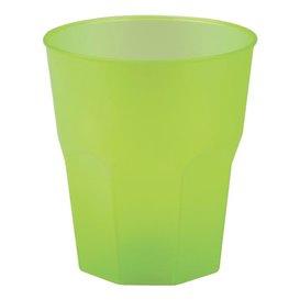 "Bicchiere Plastica ""Frost"" Verde Acido PP 270 ml (420 Pezzi)"