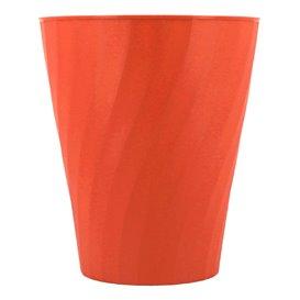 """Bicchiere di Plastica PP """"X-Table"""" Arancione 320ml (128 Pezzi)"""