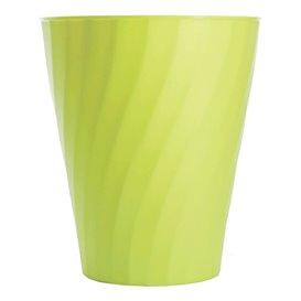 """Bicchiere di Plastica PP """"X-Table"""" Lime 320ml (8 Pezzi)"""