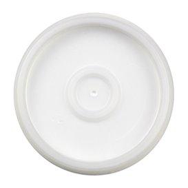 Coperchio PS Traslucido per Bicchiere Termico Eps 4Oz/120ml Ø6,9cm (100 Pezzi)