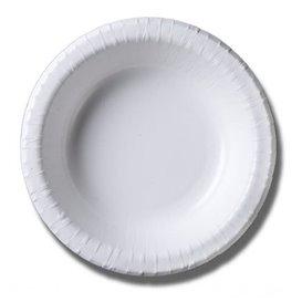 Ciotola di Carta Biocoated Bianco 500ml (20 Pezzi)