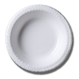Ciotola di Carta Biocoated Bianco 500ml (40 Pezzi)