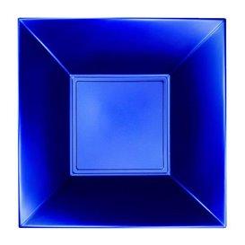 Piatto Plastica Fondo Blu Nice Pearl PP 180mm (25 Pezzi)