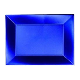 Vassoio Plastica Blu Nice Pearl PP 280x190mm (12 Pezzi)