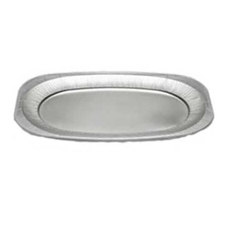 Vassoio Ovale di Alluminio 2150ml (60 Pezzi)