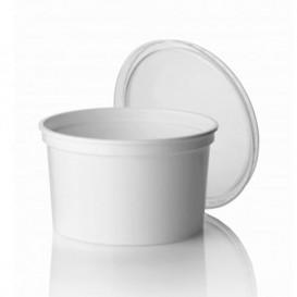 Contenitore rotondo bianca in plastica 500cc Ø11,5cm (50 Pezzi)