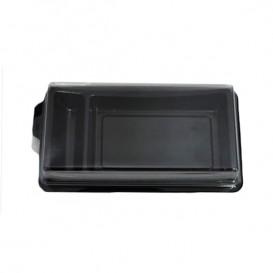 Imballaggi Sushi Nero 148x78 mm (10 Pezzi)