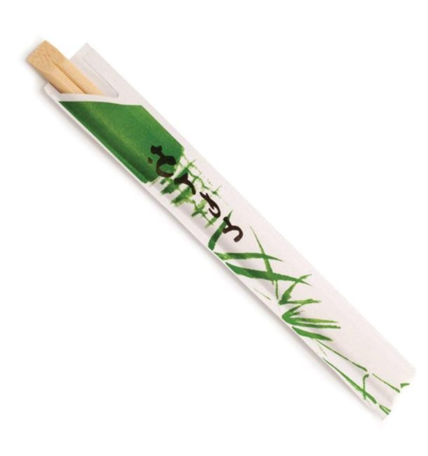 Bacchette Cinese in Bambu Imbustate 200 mm (100 Pezzi)