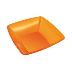 Ciotola PS Glas Rígida Arancione 480ml 14x14cm (4 Pezzi)