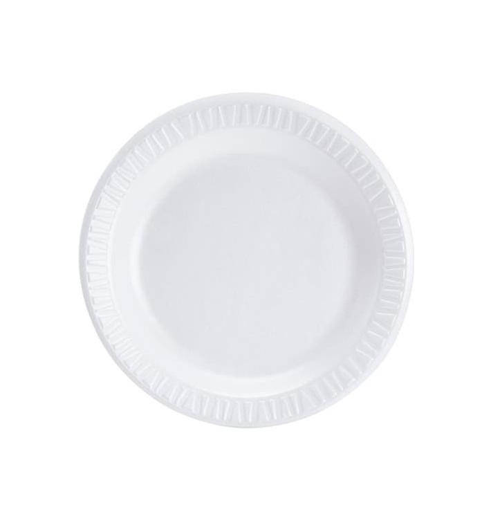 Piatto Termici EPS Bianco 230 mm (500 Pezzi)