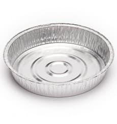 Recipiente Aluminio 1450ml Redondo para Pollo (125 unidades)