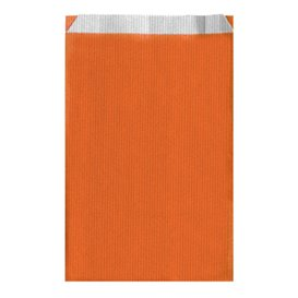 Sacchetto di Carta Arancione 26+9x46cm (125 Pezzi)