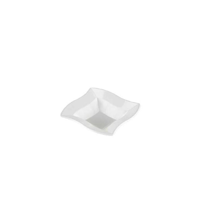 "Ciotola Plastica PS ""Onda"" Bianco 18x18cm (360 Pezzi)"