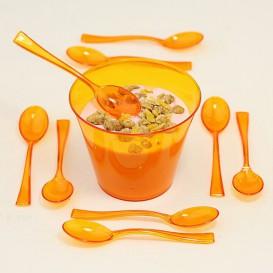 Bicchiere Plastica Rigida Arancione 230 ml (150 Pezzi)
